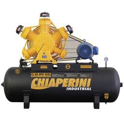 Compressor de Ar Industrial Intermitente Trifásico 60 Pés 425 Litros