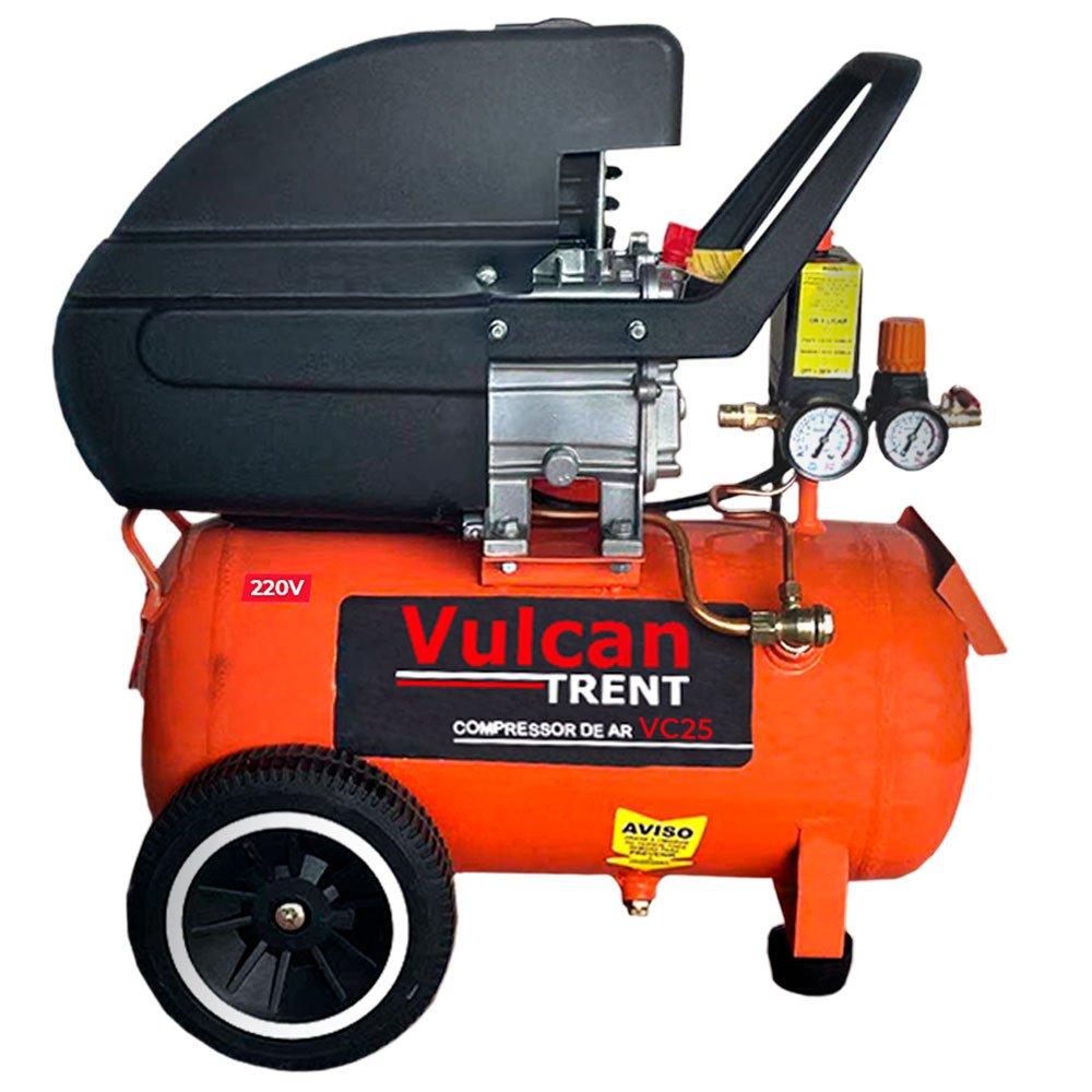 Compressor de Ar 8,0 Pés 25 Litros 2,5HP 160L/m com 2 Saídas