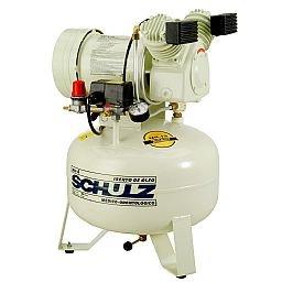 Compressor Odontológico Isento de Óleo 30 Litros 1HP 220V