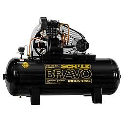 Compressor de Ar Bravo 25 Pés 250 Litros 220/380V
