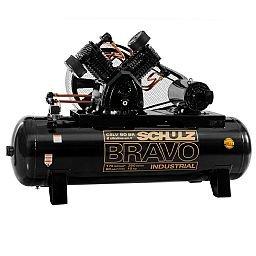 Compressor de Ar Bravo 60 Pés 350 Litros 220/380 V