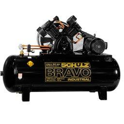 Compressor de Ar Bravo 60 Pés 425 Litros 220/380 V