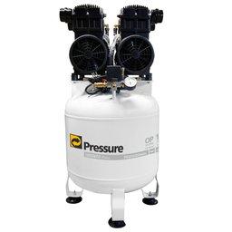 Compressor Odontológico Isento de Óleo 2 x 8,1 PCM 70 Litros 110V