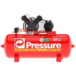 Compressor 15 Pés 175 Litros Monofásico 140 Libras ATG2