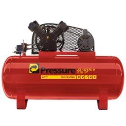 Compressor 15 Pés 175 Litros 140 Libras Trifásico ATG2  - Pressure
