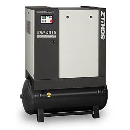 Compressor de Ar de Parafuso com Reservatório de 230 Litros 380V 11 Bar - LEAN SRP 4015