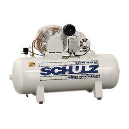 Compressor de Ar Odontológico Trifásico 15PCM 261 Litros 220V CSV 15/250