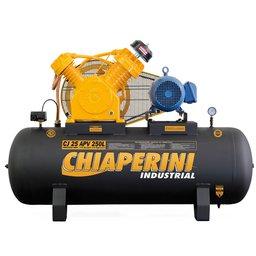 Compressor de Ar 25PCM 250 Litros 220V Mono CJ 25 APV 250L