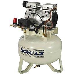 Compressor de Ar Odontológico Silencioso 5PCM 29 Litros 110V