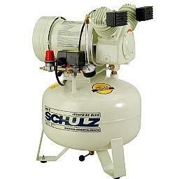Compressor de Ar Odontológico Silencioso 6PCM 29 Litros 110V MSV 6/30