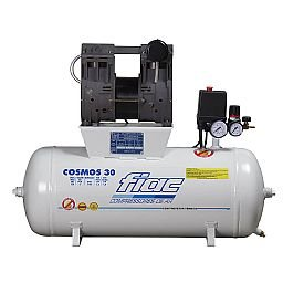 Compressor Odontológico Isento de Óleo 30 Litros 6PCM 220V