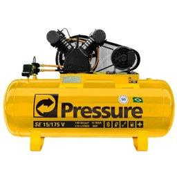 Compressor de Ar Monofásico 15PCM 175 Litros