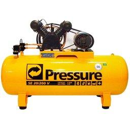 Compressor de Ar Trifásico 20PCM 200 Litros