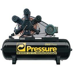 Compressor de Ar Trifásico 60PCM 425 Litros Ônix