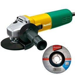 Esmerilhadeira Angular 115mm 4.1/2 Pol. 840W  com Disco Abrasivo