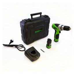 Parafusadeira/Furadeira 12V à Bateria Lítio com 2 Baterias e Maleta