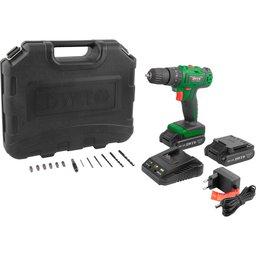Parafusadeira/Furadeira de Impacto 3/8 Pol. 2 Baterias 12V Lition, Maleta, Carregador Bivolt + 13 Acessórios