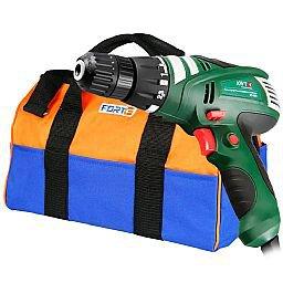 Kit Furadeira / Parafusadeira  Awt ED280 + Bolsa para Ferramentas 43cm FortGPro FG8991