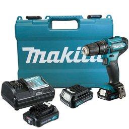 Kit Furadeira/ Parafusadeira de Impacto 12V MAKITA-HP333DWYE + Bateria Max 2.0 Ah BL1021B