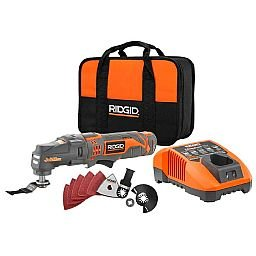 Kit Multi Cortadora Oscilante Ferramenta JobMax à Bateria com Acessórios e Maleta