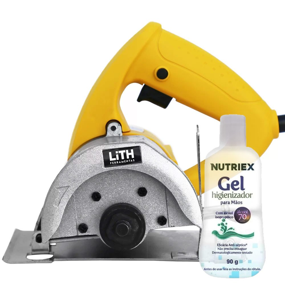 Kit Serra Mármore LITH-LT4000 220V 1050W + 1 Álcool em Gel Isopropílico Higienizante 70% 90g