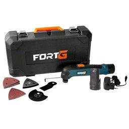 Kit Multicortadora Oscilante FG6600 12V com Acessórios + Bateria de Íons de Lítio FG3440 12V 1,3Ah