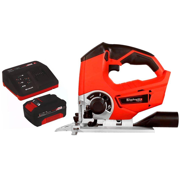 Kit Serra Tico-Tico EINHELL-TE-JS18LI-SOLO 2400gpm 18V + Kit Bateria 18V 4.0 com Carregador 18V EINHELL-4512106 Bivolt