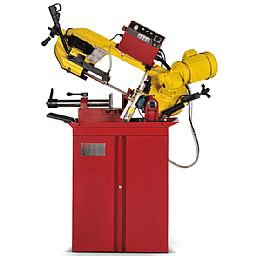 Máquina Serra de Fita 220V para Corte em Aço Metais e Alumínio