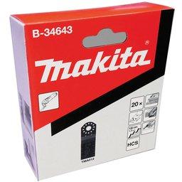 Kit de Lâminas para Cortes de Imersão 32 x 40 mm para Madeira com 20 Peças