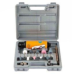 Kit Micro Retífica Pneumática 1/4 Pol. 22000rpm