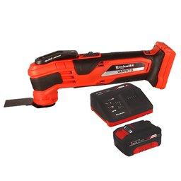 Kit Ferramenta Multifuncional EINHELL-VARRITO-44.651.60 18V com 15 Acessórios + Kit Bateria 18V 4.0 com Carregador 18V EINHELL-4512106 Bivolt