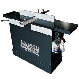 Desempenadeira Black Edition 1400 x 300mm com 3 Facas Motor 2CV 2P Trifásico