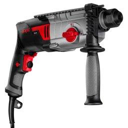 Martelo Eletropneumático SDS Plus 13mm 2.1J 750W 220V com 3 Funções, Acessórios e Maleta