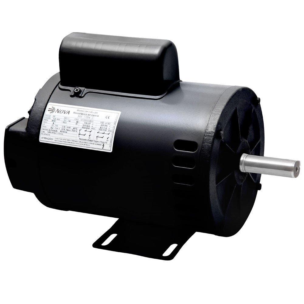 Motor Elétrico Monofásico 1/2CV 2 Polos