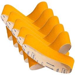 Conjunto de Lixas para Lixadeira de Cinta 610 x 100mm Grão 36 com 10 Unidades