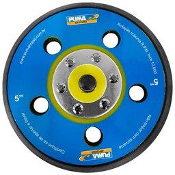 Base com Velcro Perfurada 5 Pol. para Lixadeiras