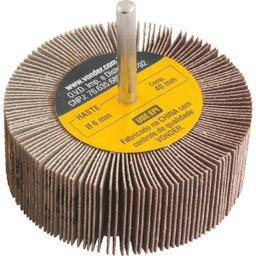 Roda de lixa 80 mm x 30 mm com haste, grão 120 VONDER