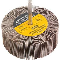Roda de lixa 80 mm x 30 mm com haste, grão 220 VONDER