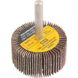 Roda de lixa 40 mm x 20 mm com haste, grão 120, VONDER
