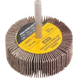 Roda de lixa 60 mm x 20 mm com haste, grão 120 VONDER