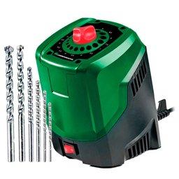 Kit Afiador de Brocas CARBOGRAFITE-0125 de 3 a 10mm  + Jogo de Brocas HSS 1,5 a 6mm com 7 Peças