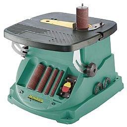 Lixadeira de Bancada com Eixo e Cinta de Lixa Oscilante 1/2HP 220V Monofásico