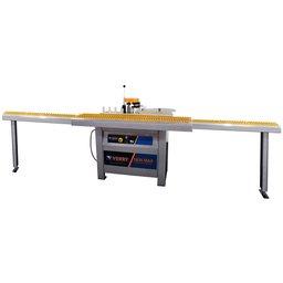 Coladeira de Borda Manual 1400W Monofásica com 2 Mesas Prolongadas