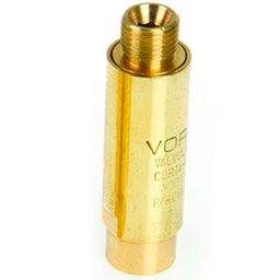 Válvula Seca Corta Chama para Regulador de Pressão Acetileno e GLP