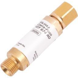 Válvula Corta-Fogo Oxigênio Para Regulador Vcf 674 Ro