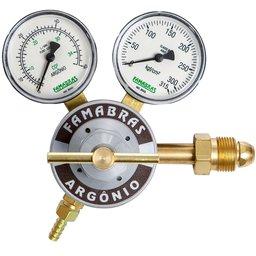 Regulador de Pressão Cilindro Argônio 220 Kgf/Cm2 40 L/min