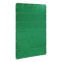 Cortina de Solda Plástica Verde 1,22 x 1,78m