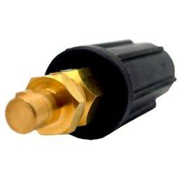 Conector Solda Cabo Er Macho 9mm