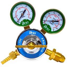 Regulador de Pressão para Cilindro de Argônio 315 Kgf/Cm2 40 L/min Premium RA-700