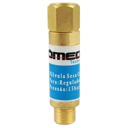 Válvula Corta Fogo para Regulador de Oxigênio